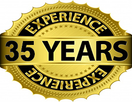 35 Years of central vacuum experience